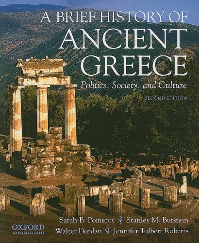 9780195392678: A Brief History of Ancient Greece: Politics, Society and Culture