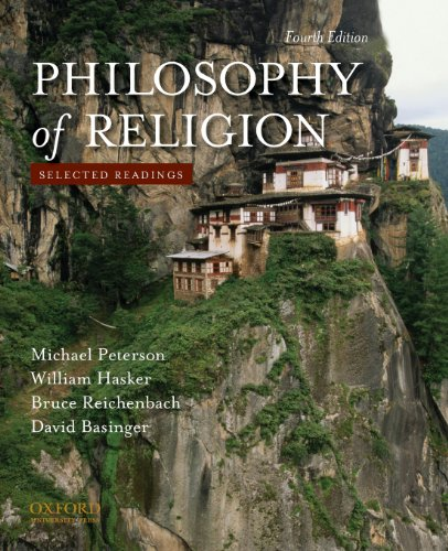 9780195393590: Philosophy of Religion: Selected Readings