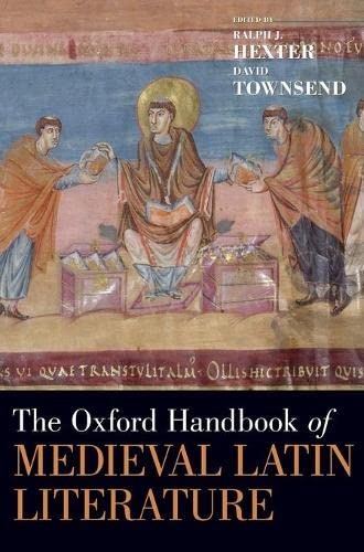 9780195394016: The Oxford Handbook of Medieval Latin Literature