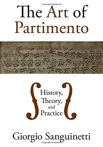9780195394207: The Art of Partimento: History, Theory, and Practice