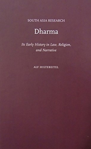 9780195394238: Dharma: Its Early History in Law, Religion, and Narrative