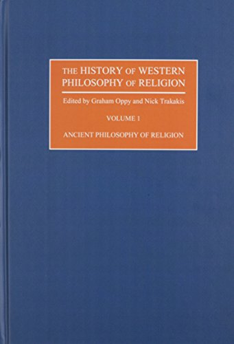 9780195394283: The History of Western Philosophy of Religion, Multi-Volume