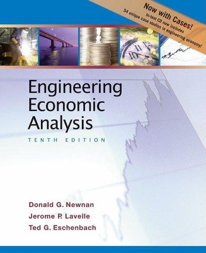 9780195394634: Engineering Economic Analysis