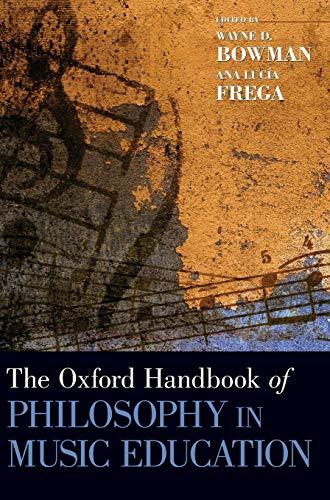 9780195394733: The Oxford Handbook of Philosophy in Music Education (Oxford Handbooks in Music)