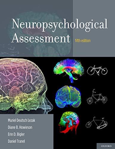 9780195395525: Neuropsychological Assessment