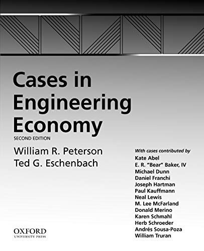 9780195397833: Cases in Engineering Economy
