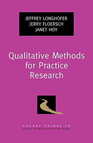 9780195398472: Qualitative Methods for Practice Research (Pocket Guide to Social Work Research Methods)
