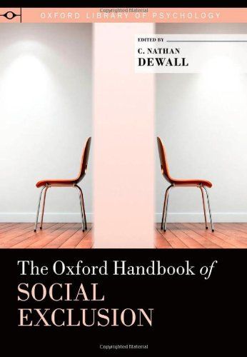 9780195398700: The Oxford Handbook of Social Exclusion (Oxford Library of Psychology)