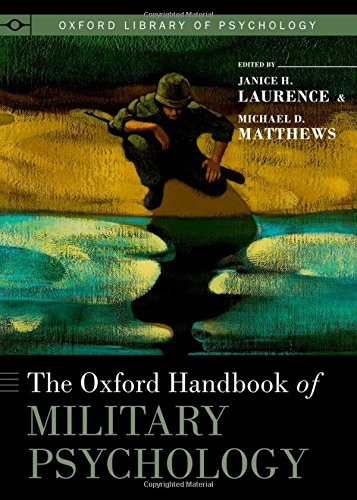 9780195399325: The Oxford Handbook of Military Psychology (Oxford Library of Psychology)