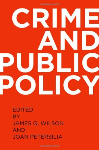 9780195399363: Crime and Public Policy