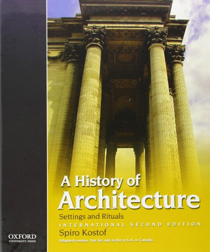 9780195399837: A History of Architecture: International Second Edition