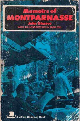 Memoirs of Montparnasse: Glassco, John