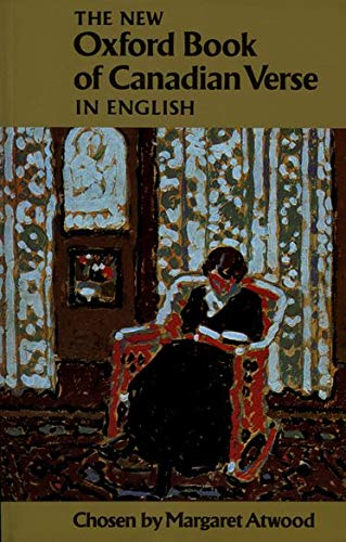 9780195404500: The New Oxford Book of Canadian Verse in English (PBK)