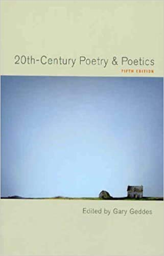 9780195404883: Twentieth Century Poetry and Poetics