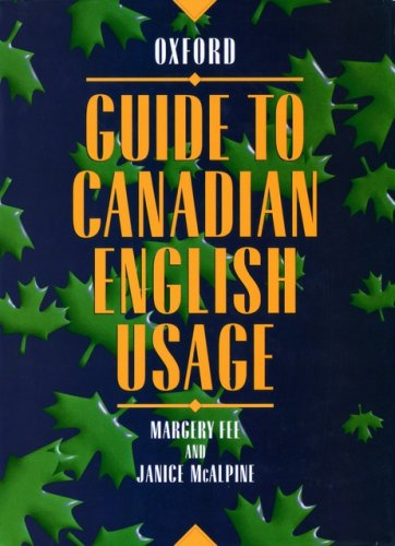 9780195408416: Guide to Canadian English Usage