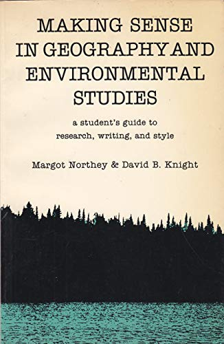 Making sense in geography and environmental studies: Margot Northey