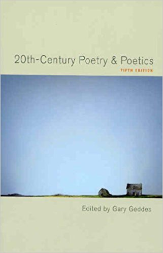 9780195410150: 20th Century Poetry and Poetics