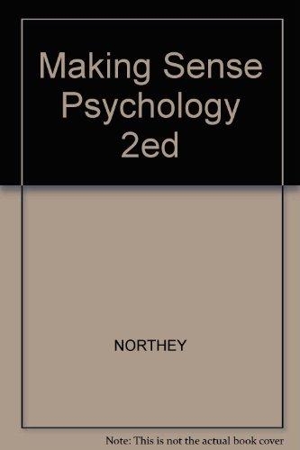 9780195410945: Making Sense Psychology 2ed