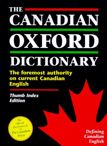 9780195411201: The Canadian Oxford Dictionary