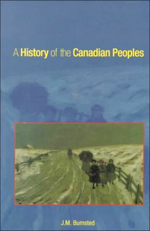 9780195412000: A History of the Canadian Peoples