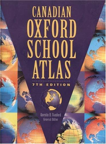 9780195413090: Canadian Oxford School Atlas