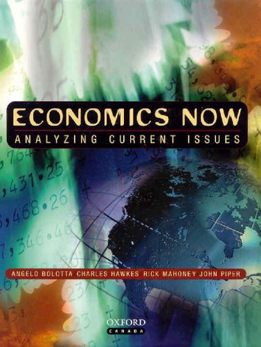 9780195414455: Economics Now: Analyzing Current Issues
