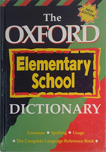 9780195414608: Oxford Elementary School Dictionary