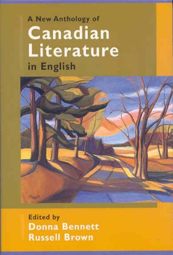 9780195416879: A New Anthology of Canadian Literature in English