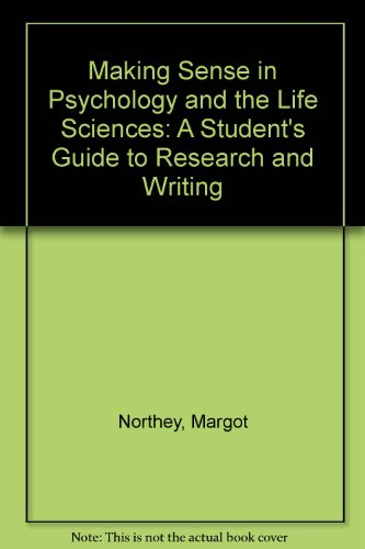 Making Sense in Psychology and the Life: Margot Northey, Brian