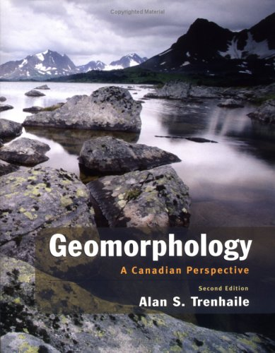 9780195418279: Geomorphology: A Canadian Perspective