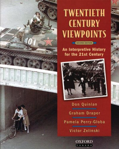 9780195418675: TWENTIETH CENTURY VIEWPOINTS an Interpretive History for the 21st Century (Second edition)