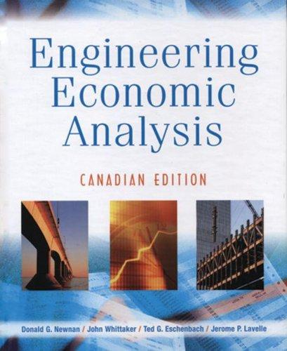 Engineering Economic Analysis: Newnan, Donald; Whittaker,