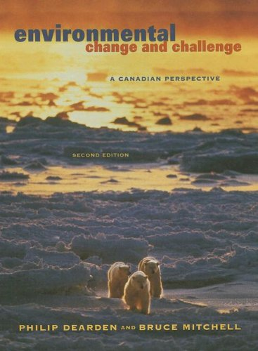 9780195419276: Environmental Change and Challenge: A Canadian Perspective