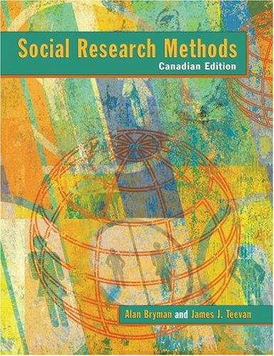 9780195419412: Social Research Methods: Canadian Edition
