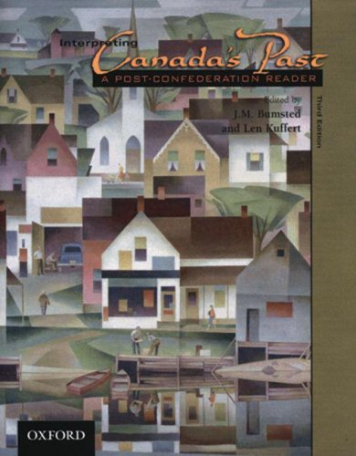 9780195420180: 2: Interpreting Canada's Past: A Post-Confederation Reader