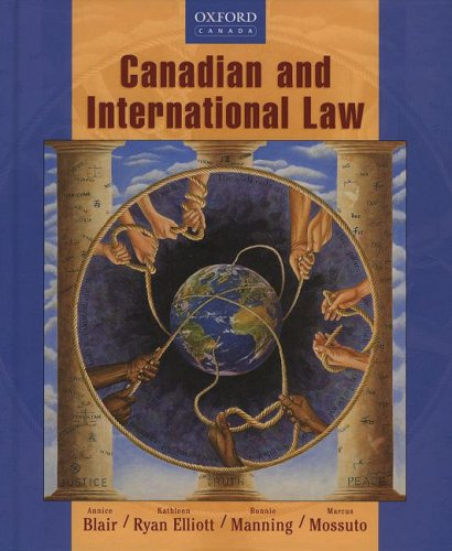 9780195420470: Canadian and International Law: Student Book