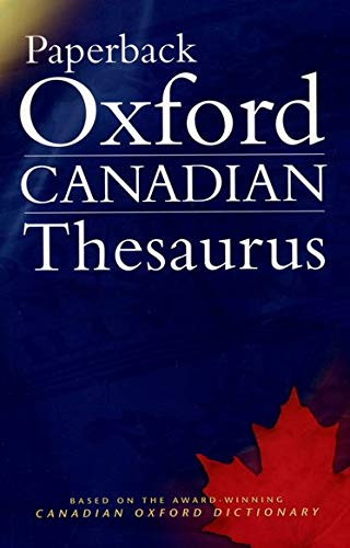 9780195420692: Paperback Oxford Canadian Thesaurus