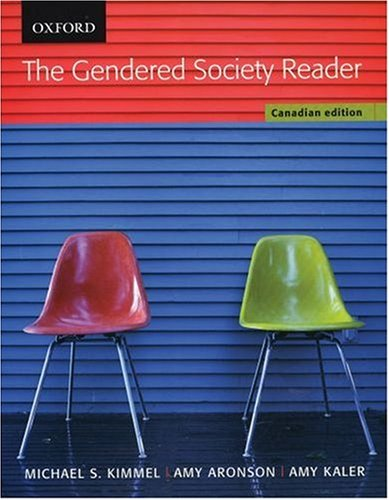 9780195421668: The Gendered Society Reader: First Canadian Edition