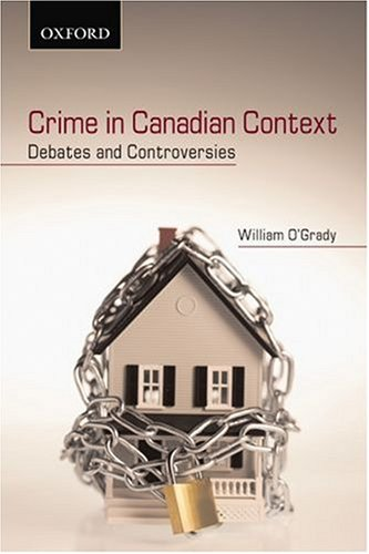9780195422955: Crime in Canadian Context