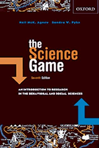 9780195423211: The Science Game: An Introduction to Research in the Social Sciences