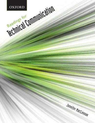 9780195423228: Readings for Technical Communication