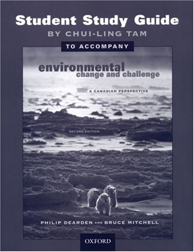 9780195423259: Environmental Change and Challenge: A Canadian Perspective