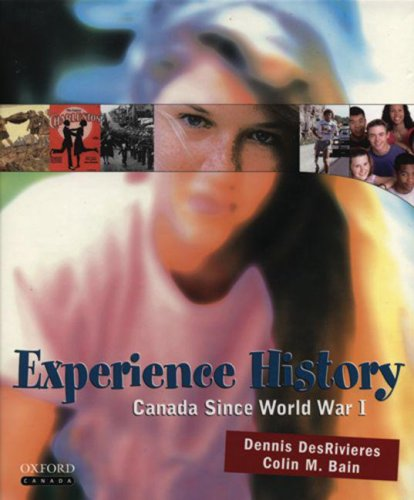 9780195424300: Experience History: : Canada since World War I