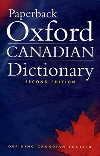 9780195424393: Paperback Oxford Canadian Dictionary