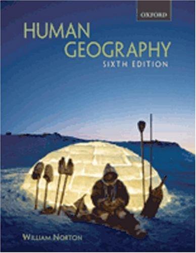 9780195425116: Human Geography