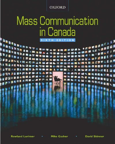 9780195425352: Mass Communication in Canada