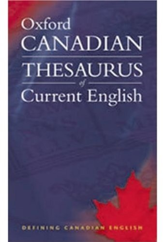 9780195425697: Oxford Canadian Thesaurus of Current English