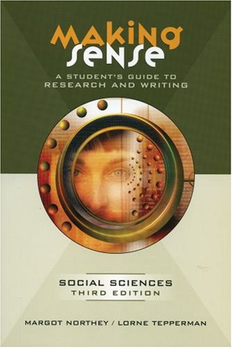 9780195425901: Making Sense: A Student's Guide to Research and Writing in the Social Sciences