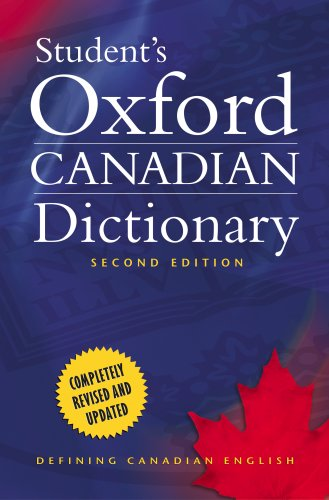 9780195427158: Student's Oxford Canadian Dictionary