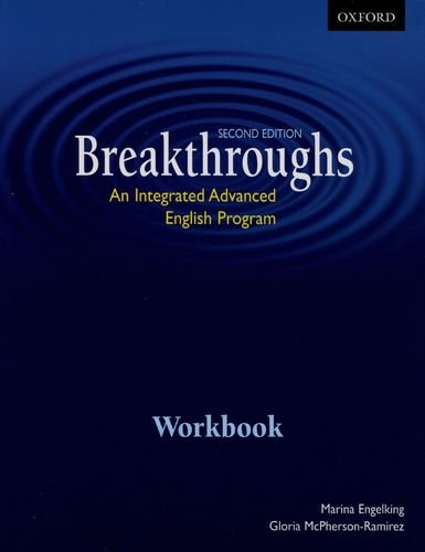 9780195427394: Breakthroughs, Second Edition: An Integrated Advanced English Program Workbook